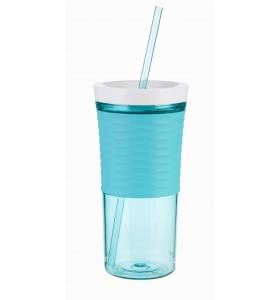 Стакан з соломинкою Contigo Shake & Go,Ocean blue, 540 мл (2095672)