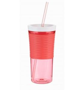 Стакан з соломинкою Contigo Shake & Go,Watermelon, 540 мл (2095673)
