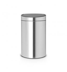 Сміттєвий бак Brabantia,Touch Bin, 40л (114809)