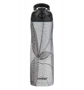Термопляшка Contigo Ashland Chill Couture White Leaf 590 мл (2127882)