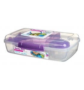Ланч-бокс Sistema Bento Box, 1,76 л (21671-3 purple)