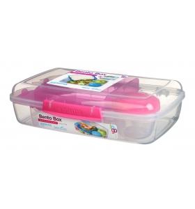 Ланч-бокс Sistema Bento Box, 1,76 л (21671-4 pink)