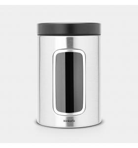 Контейнер для сипучих продуктів Brabantia Matt Steel 1,4 л (299247)
