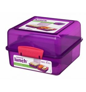 Ланч-бокс Sistema Lunch Cube,, 1,4 л (31735-3 purple)