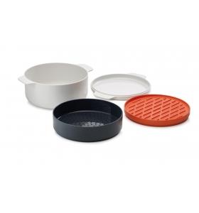 Кухонний набір Joseph Joseph M-Cuisine stackable microwave cooking set, 4 пр. (45001)
