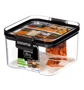 Ємність для зберігання сипучих продуктів Sistema Ultra 460 мл (51400)