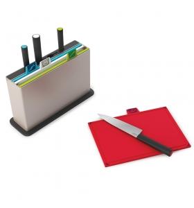 Набір обробних дошок Joseph Joseph Index Chopping Board з ножами (60096)
