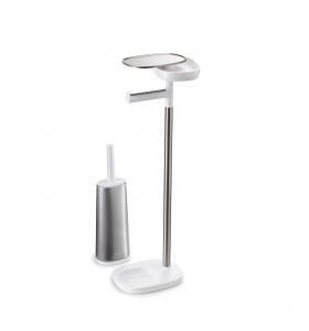 Тримач для туалетного паперу Joseph Joseph EasyStore™ зі щіткою Flex ™ (70519)