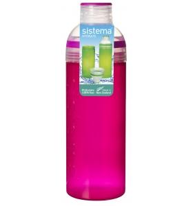 Пляшка для води Sistema Trio, 700 мл (840-3 pink)