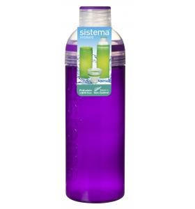 Пляшка для води Sistema Trio, 700 мл (840-4 purple)