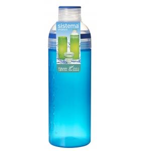 Пляшка для води Sistema Trio, 700 мл (840-5 dark blue)
