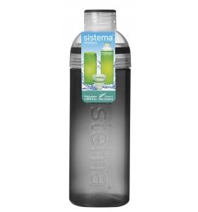 Пляшка для води Sistema Trio, 700 мл (840-6 black)