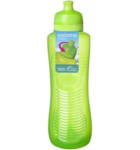 Пляшка для води Sistema Twist 'n' Sip™ Squeeze, 800 мл (850-2 green)