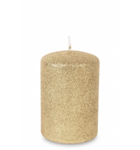 Свічка декоративна Glamur (125909 PL) цилідр