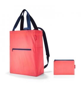Сумка-рюкзак Reisenthel Mini Maxi 2-In-1 червона (AB 3051)
