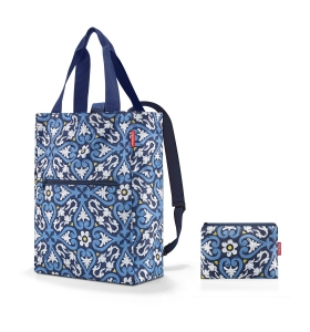 Сумка-рюкзак Reisenthel Mini Maxi 2-in-1 Floral, 19 л (AB 4067)