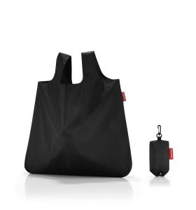 Торбинка Reisenthel mini maxi shopper pocket black AO 7003