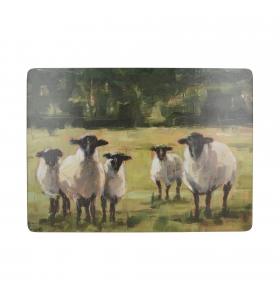 Набор подставок под горячее 4 шт CT Sheep Family C000284