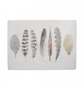 Набір підставок під тарілки Feathers, 4шт (C000287)