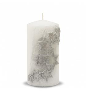 Свічка циліндр новорічна Зоряний Пил(100145 PL)